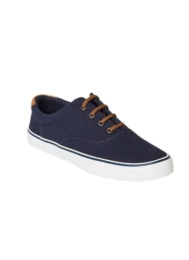 AC&Co / Altınyıldız Classics Günlük Rahat Kanvas Spor Ayakkabı 4A2220200034 Mavi